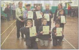 4th Walton Chief Scout Silver Awards